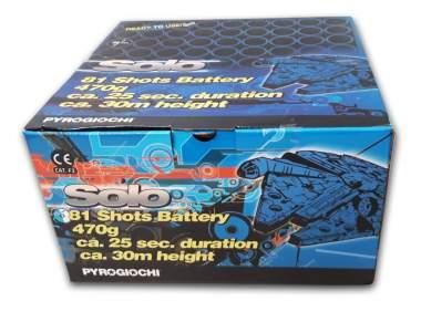 SOLO - 81 shots - COD. 42050