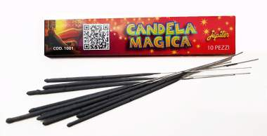 MINI MAGIC CANDLE - 10 pieces - COD. 1001