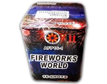 FIREWORKS WORLD - 16 shots - COD. AFP161