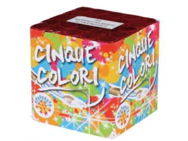 CINQUE COLORI - COD. 0900F