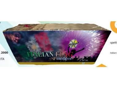 ITALIAN FLAG - 100 shots - COD. C10716