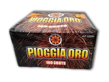 PIOGGIA ORO - 100 shots - COD. AF100NB