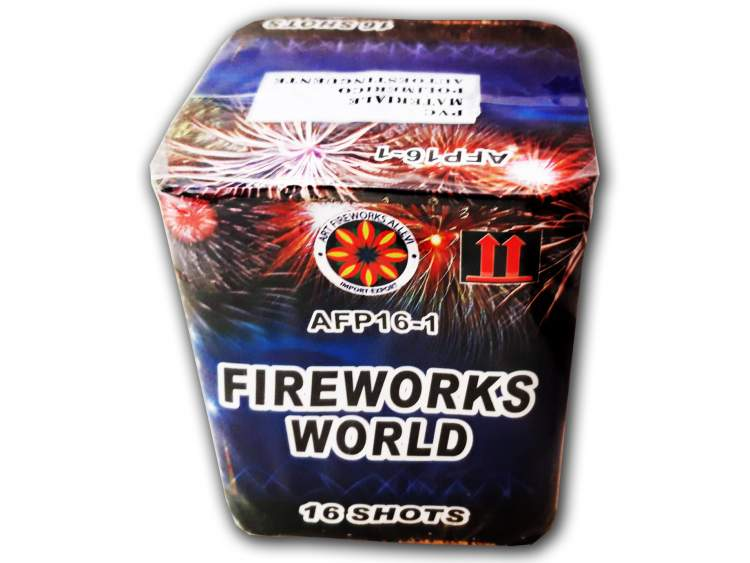 FIREWORKS WORLD 16 shots COD. AFP161 (1)