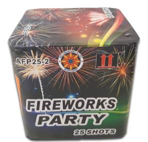 FIREWORKS PARTY - 25 lanci - COD. AFP25-2