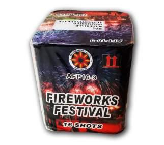 FIREWORKS FESTIVAL - 16 lanci - COD. AFP163