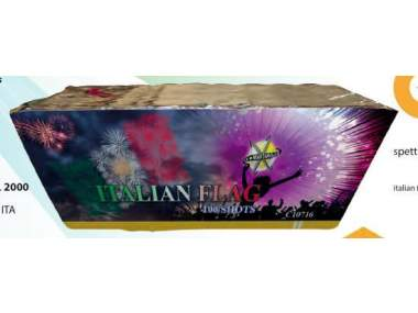 ITALIAN FLAG - 100 lanci - COD. C10716