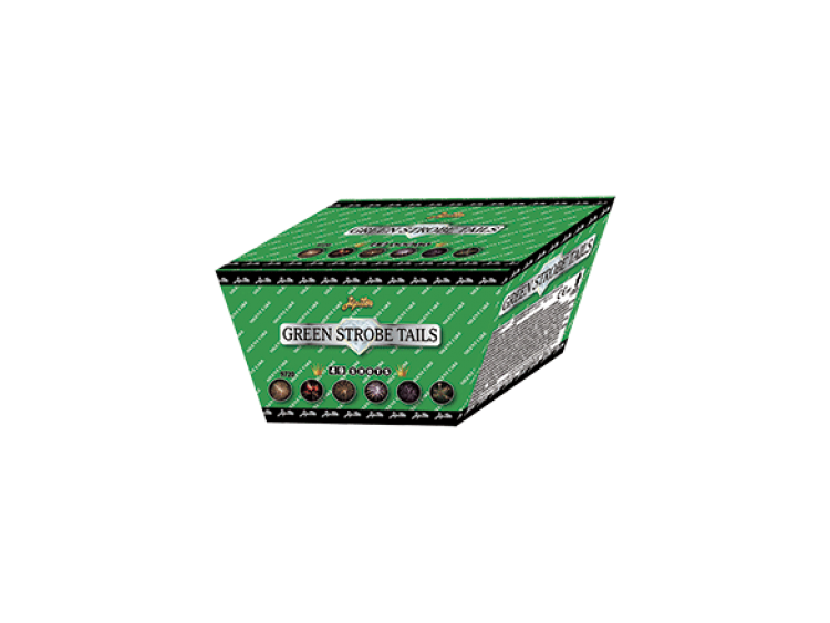 GREEN STROBE - 49 lanci  COD. 9720 (1)