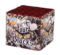 FOUR BLACKS - 25 lanci - COD. 0673D