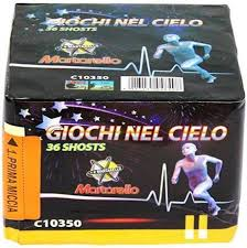 GIOCHI NEL CIELO - 36 lanci - COD. C10350