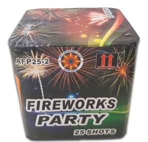 FIREWORKS PARTY - 25 lanci - COD. AFP25-2
