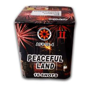 PEACEFUL LAND - 16 lanci - COD. AFP164