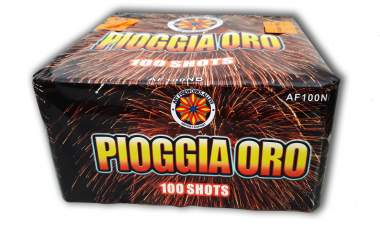 PIOGGIA ORO - 100 lanci - COD. AF100NB