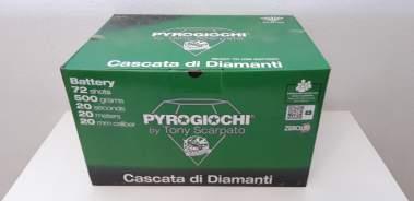 CASCATA DI DIAMANTI - 72 lanci - COD. 42146