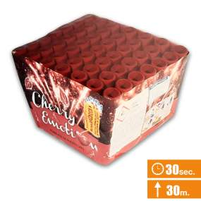 CHERRY EMOTION - spettacolo silenzioso - 49 lanci - COD. 0944A