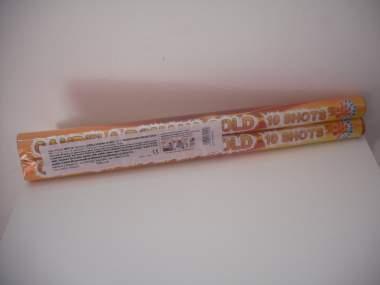CANDELE ROMANE GOLD - 2 pezzi - COD. 0311A
