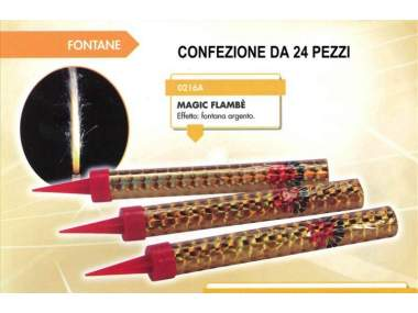 MAGIC FLAMBE' - 24 pezzi - COD. 0216AB