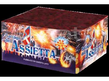 BATTAGLIA DELL'ASSIETTA - 78 lanci - COD. 0941C