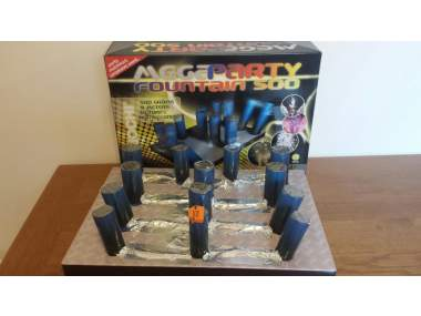 MEGAPARTY FOUNTAINS - accensione unica - COD. 42955