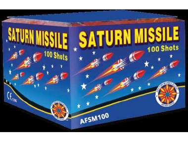 SATURN MISSILE - 100 fischi - COD. AFSM100