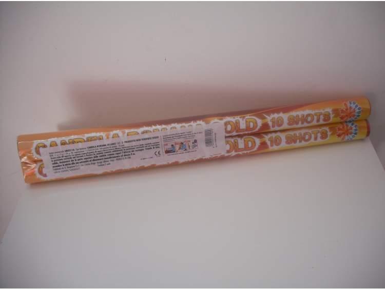 CANDELE ROMANE GOLD 2 pezzi COD. 0311A (1)