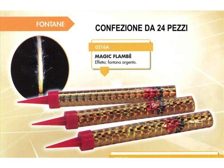 MAGIC FLAMBE' 24 pezzi COD. 0216AB (1)