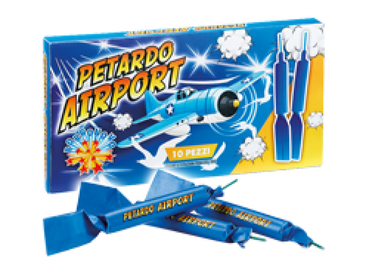 PETARDO AIRPORT 10 pezzi COD. 0108A (1)