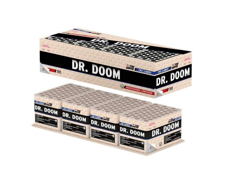 DR. DOOM 192 lanci COD. 04262 (1)