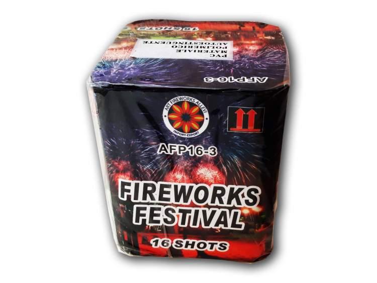 Spettacolo FIREWORKS FESTIVAL 16 lanci COD. AFP163 (1)