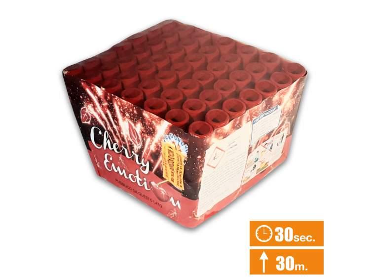 CHERRY EMOTION - spettacolo silenzioso Fantastico spettacolo 49 lanci COD. 0944A (1)