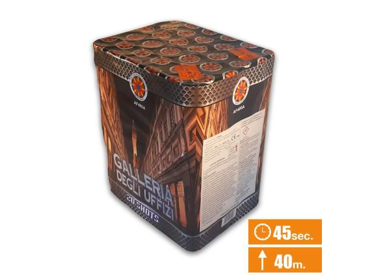 GALLERIA DEGLI UFFIZI - batteria 20 lanci 20 lanci COD. AF400A (1)